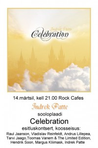 Celebration Rock Cafes 14.03.2012