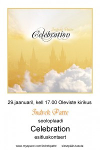 Celebration esitluskontsert 29.01.2012